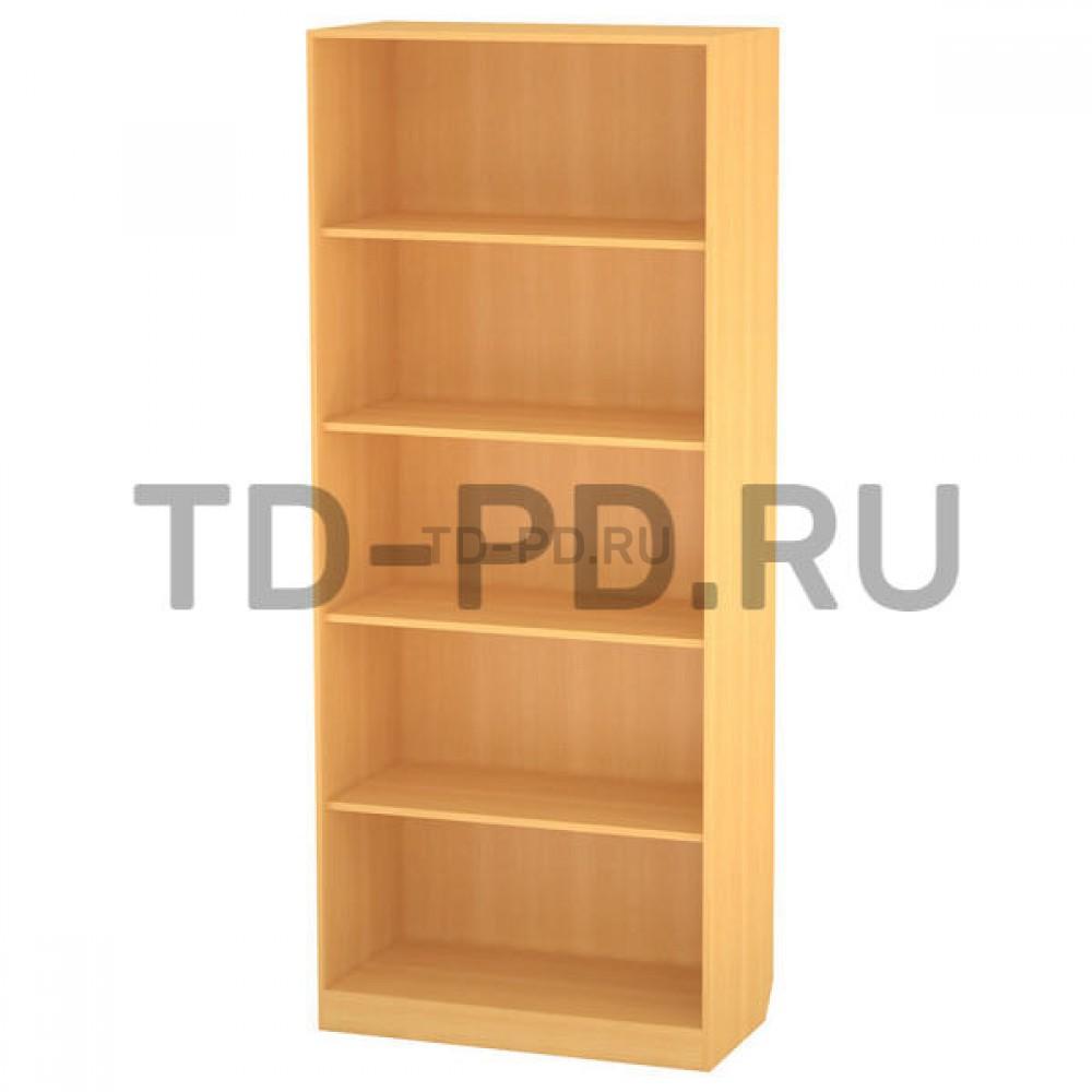 Шкаф 2-х ств. с полками открытый