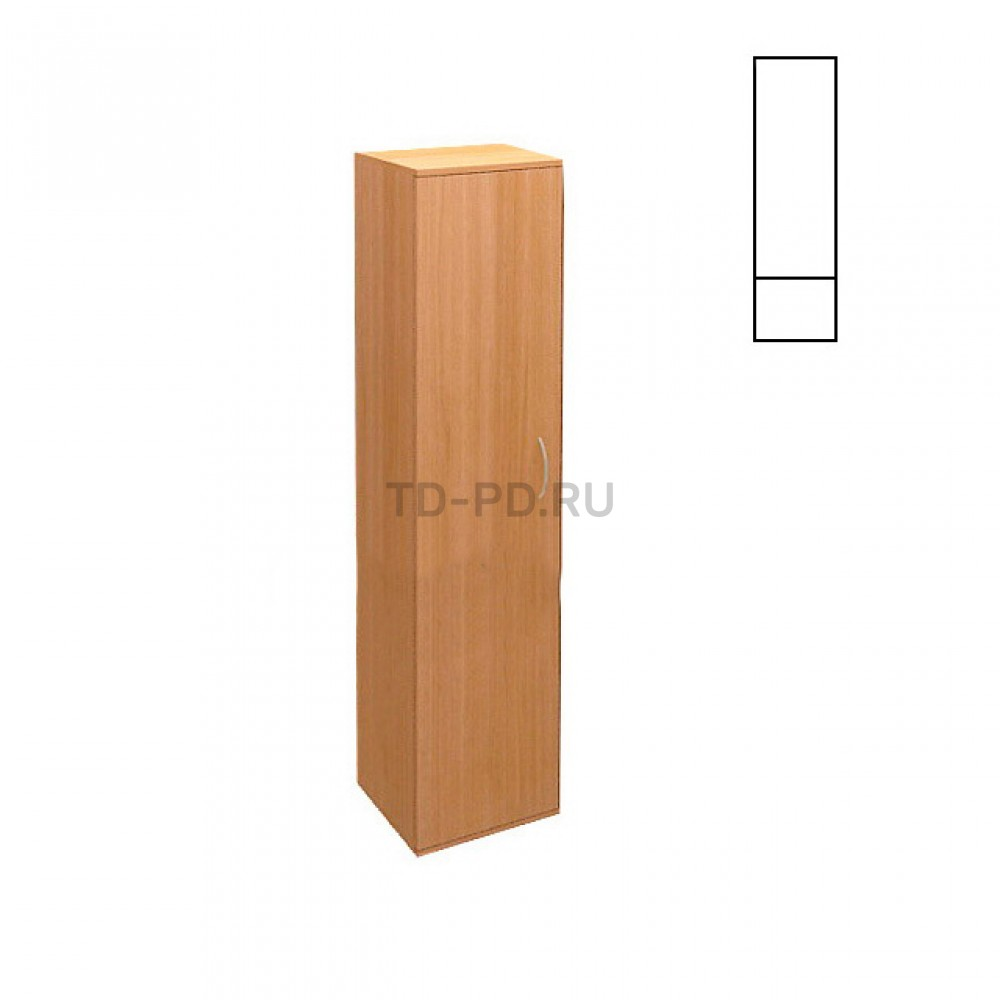 ШКАФ ДЛЯ ИНВЕНТАРЯ ХОЗ. M-16 (ЛДСП)