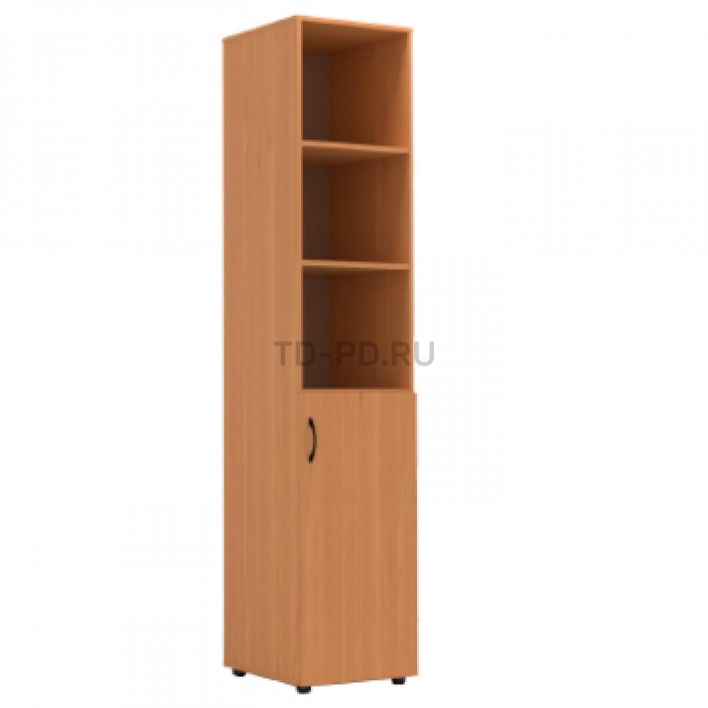 Шкаф узкий полуоткрытый